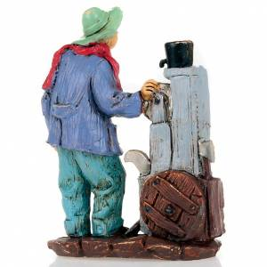 Nativity set accessory, Knife-grinder figurine s2