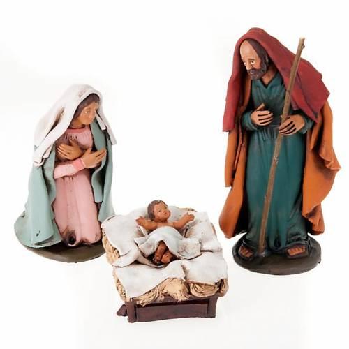 Nativity set hand-painted 18 cm s1