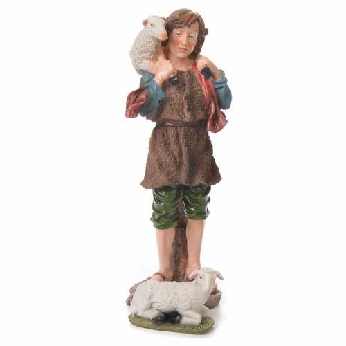 Nativity set in resin, 10 figurines measuring 44cm s5