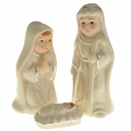 Nativity set, pearled ceramic s1