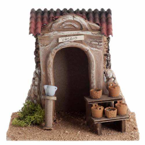 Nativity setting, potter's workshop s1
