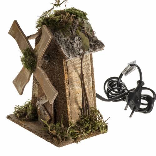 Nativity setting, wind mill 4W, 15-18 turns/minute 18x13x9cm s3