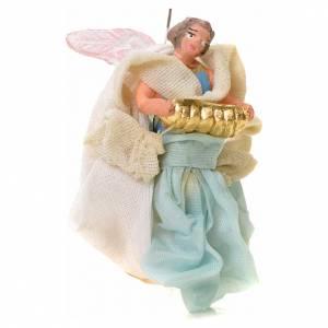 Neapolitan Nativity figurine, angel, 6 cm s2
