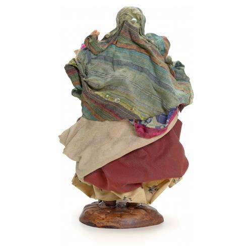 Neapolitan Nativity figurine, gypsy, 18 cm s3