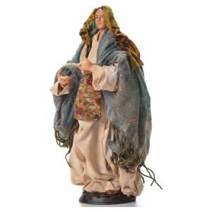 Neapolitan nativity figurine, pregnant woman 30cm s2