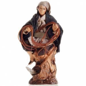 Neapolitan Nativity figurine, Standing fisherman  8cm s1