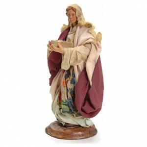 Neapolitan nativity figurine, Woman with fruit basket 18cm s2