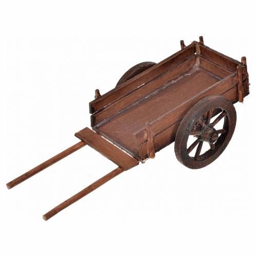 Neapolitan Nativity scene accessory, empty cart 4x12x5 s1