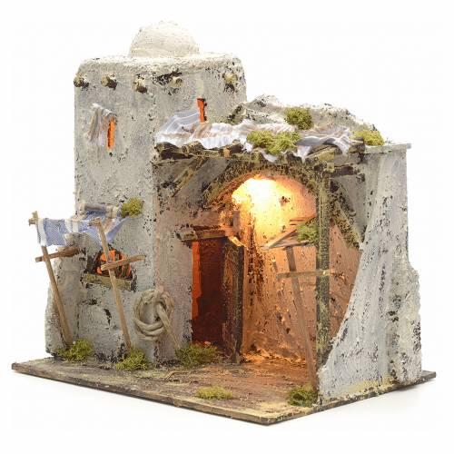Neapolitan Nativity scene, Palestinian house s3