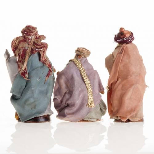 Neapolitan Nativity set, Magi 8cm s5
