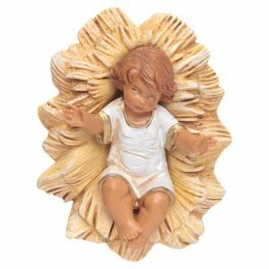 Figuras del Belén: Niño jesús pesebre 19cm Fontanini