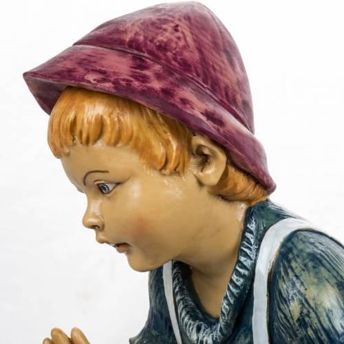 Niño manos abiertas 125 cm. pesebre Fontanini s3