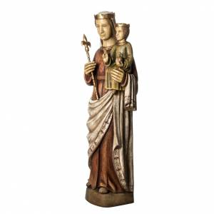 Norman Virgin statue, 103 cm in painted wood, Bethléem s3