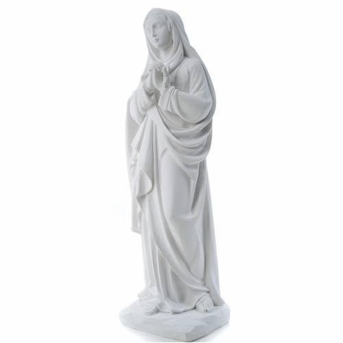 Notre Dame des Douleurs marbre blanc 80 cm s2