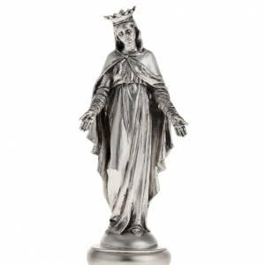 Statues en résine et PVC: Notre Dame du Liban couleur métal 16 cm