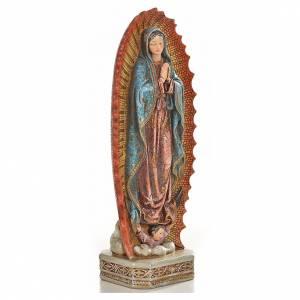 Nuestra Señora de Guadalupe 20cm de resina s2