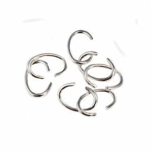 Eigenbau Rosenkränze: Offene Ringe aus Metall für Rosenkränze
