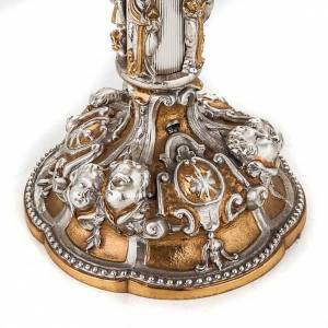 Ostensorio Virgen y ángeles s8