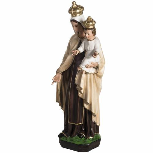 Our Lady  of Carmel statue in resin, 60 cm s5