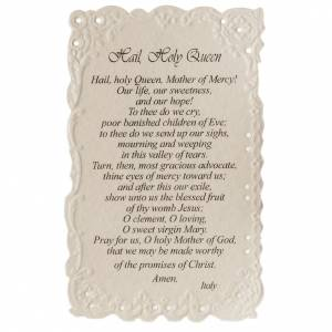 Our Lady of Grace holy card with prayer in ENGLISH s2