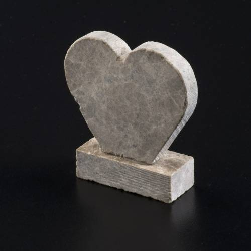 Our Lady of Medjugorje marble heart s4