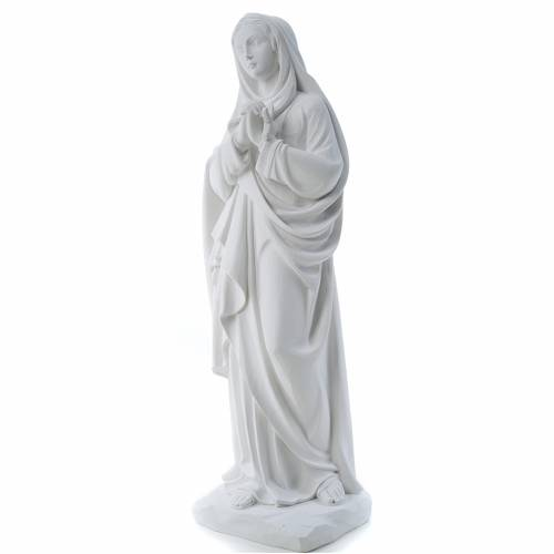 Our Lady of Sorrows, 80 cm reconstituted marble statue s2