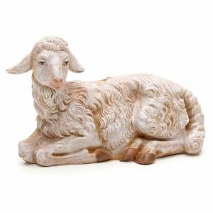Animales para el pesebre: Oveja sentada 30 cm Fontanini