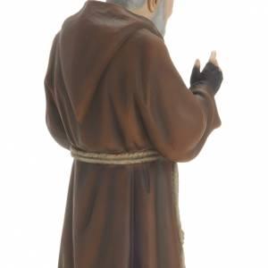 Padre Pío 60 cm en fibra de vidrio s4