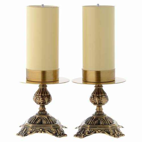 Wedding Altar Candles: Pair Of Altar Candle Holders