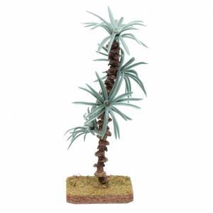 Palma 18 cm con foglie rigide accessorio per presepe s1