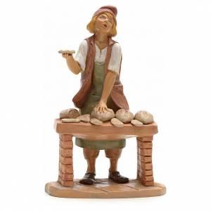 Statue per presepi: Panettiere presepe 19 cm Fontanini