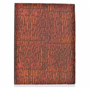 Accessori presepe per casa: Pannello sughero muro romano 36x23x1