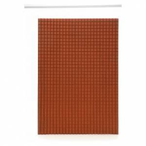 Accessori presepe per casa: Pannello tetto presepe 70x50 cm