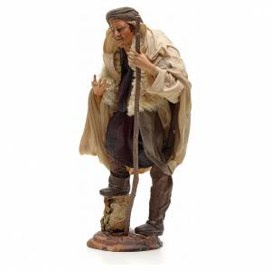 Pastor con bastón 30 cm belén napolitano s2