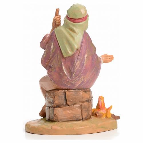 Pastor con fuego 12 cm Fontanini s2