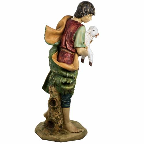 Pastor con oveja 125 cm. pesebre Fontanini s6