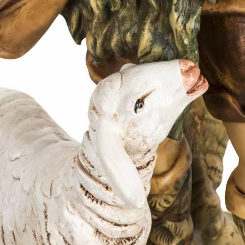 Pastor con ovejas 65 cm. pesebre Fontanini s3