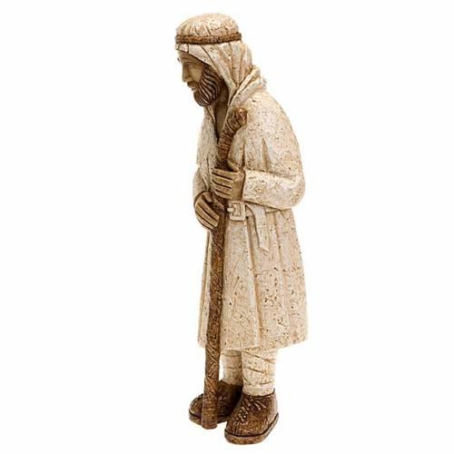 Pastor de pie con palo - Pesebre Campesino s4