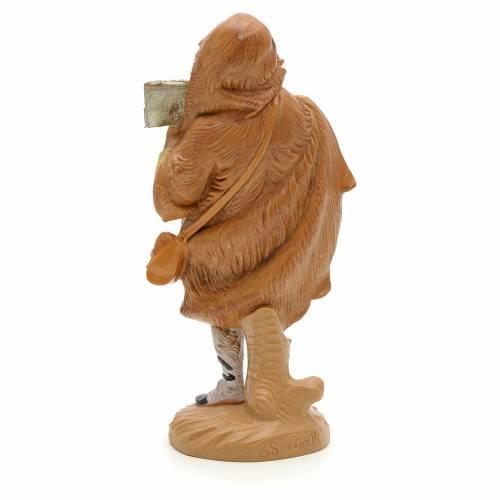 Pastore con armonica 12 cm Fontanini s2
