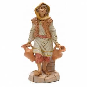 Statue per presepi: Pastore con brocche 30 cm Fontanini
