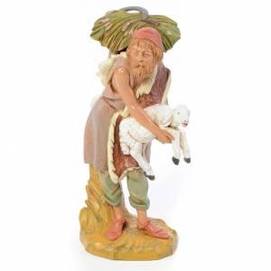 Statue per presepi: Pastore con gerla 30 cm Fontanini