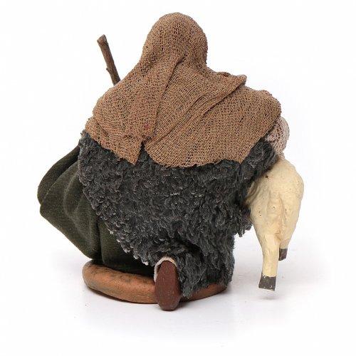 Pastore con pecorella 10 cm s4