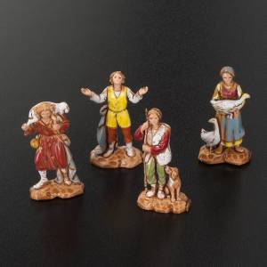 Pastores belén 12 personajes de 3 cm. Moranduzzo s2