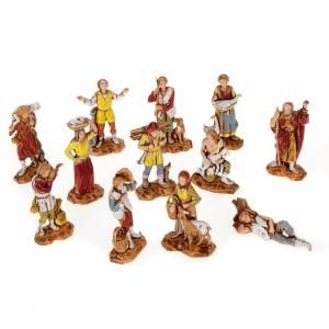 Pastores belén 12 personajes de 3 cm. Moranduzzo s1