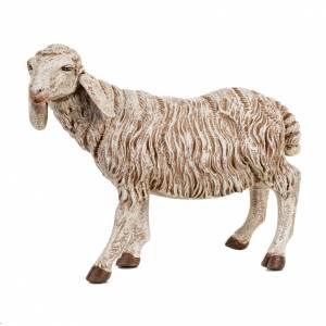 Animali presepe: Pecora in piedi per presepe Fontanini 52 cm