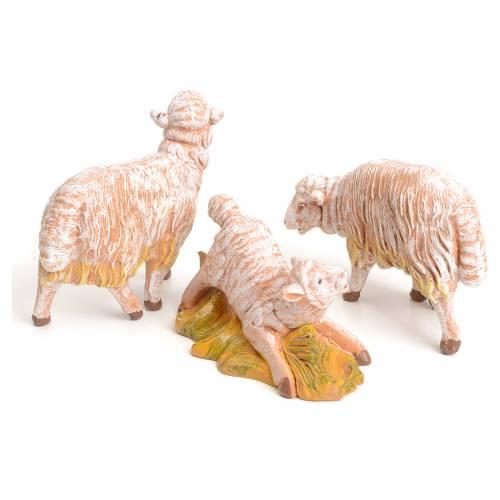 Pecore set 3 pezzi 15 cm Fontanini s2
