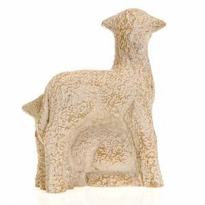 Pecorella e agnello Presepe Contadino Bethléem s4