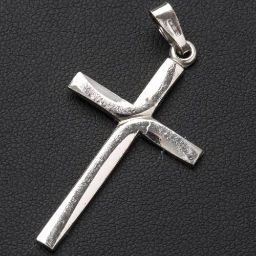 Pendant crucifix in 800 silver 2,5x3,5 cm s2
