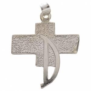 Pendant with deacon cross in 800 silver s1