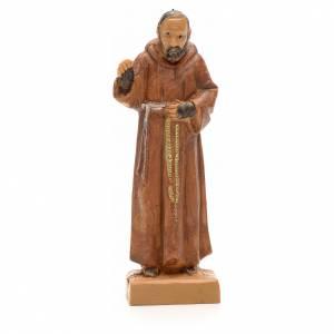 Père Pio de Pietralcina, statue 7 cm Fontanini s1